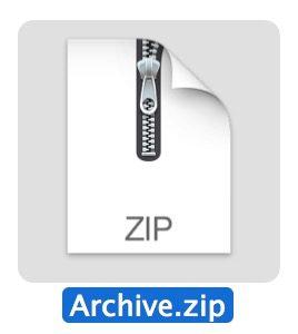 ZIP file mac