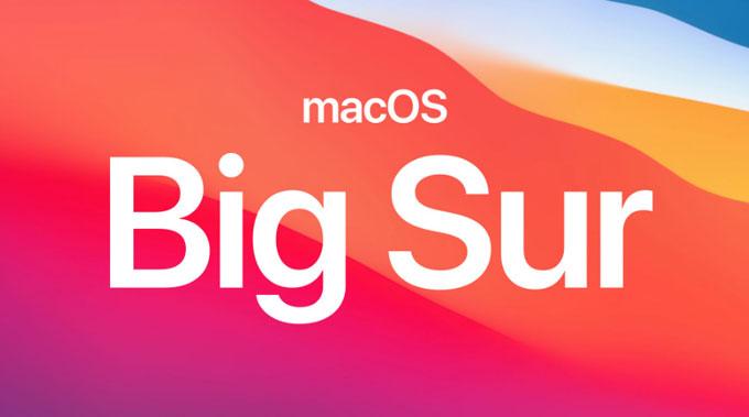 Upgrade to macOS Big Sur